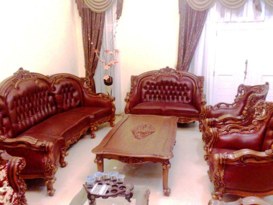 Furnitur dengan Kulit Asli (Genuine Leather Furniture)
