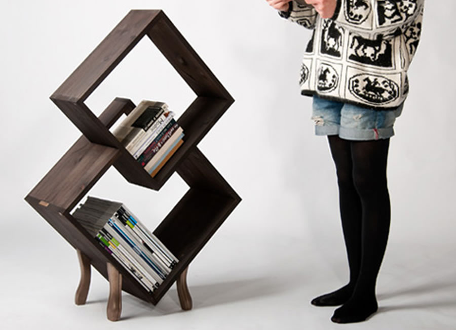 Unique Furniture Designs Unique Bria Bronze Bookcase Furniture Design